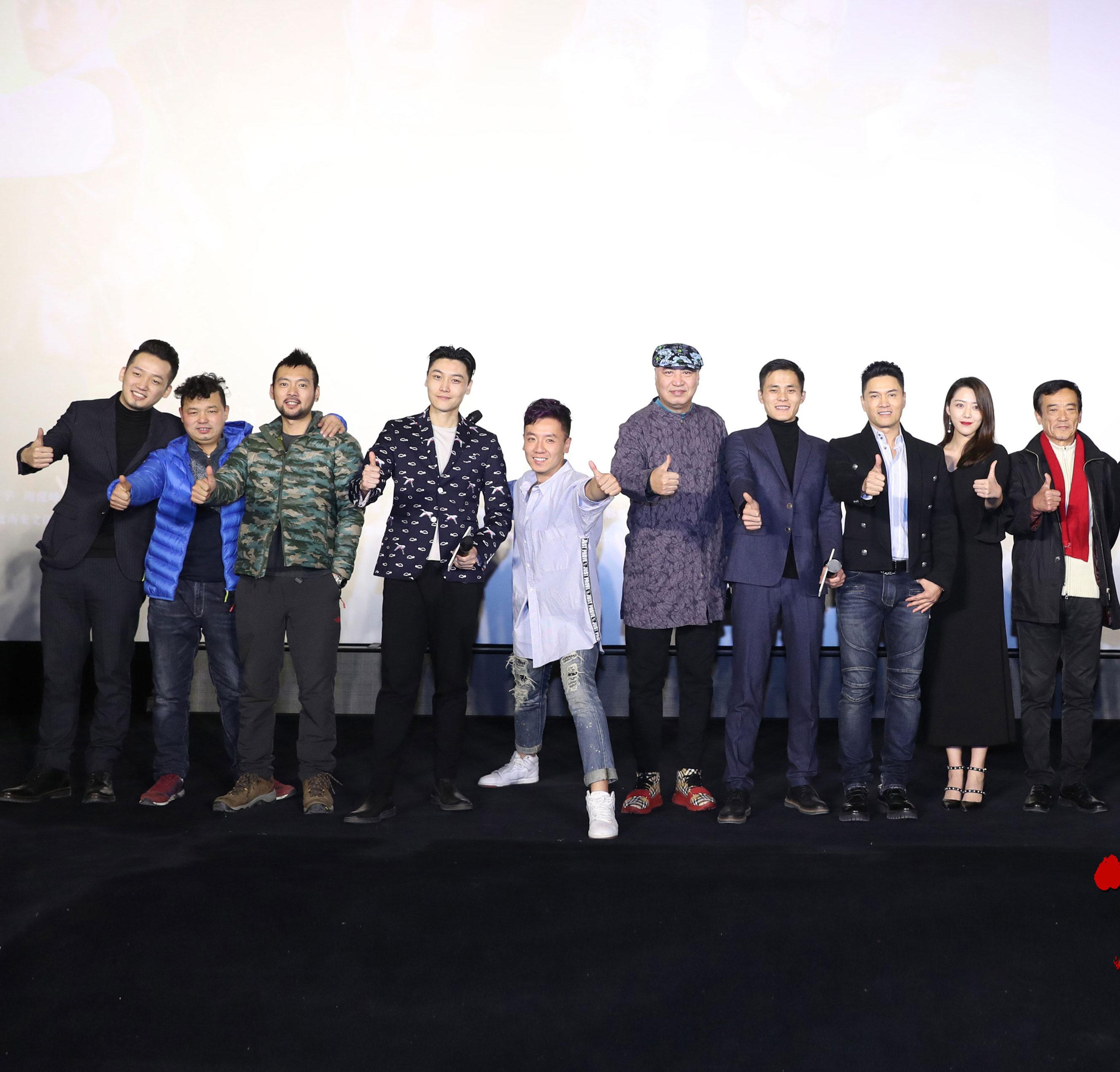 《刺杀风云》首映 吕良伟助青年导演圆梦