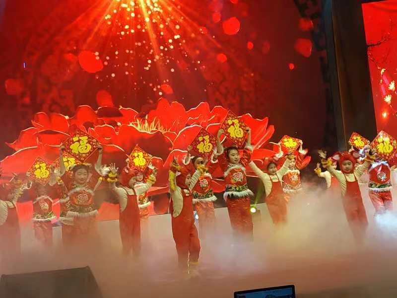 确山县举行2019年春节团拜联欢会