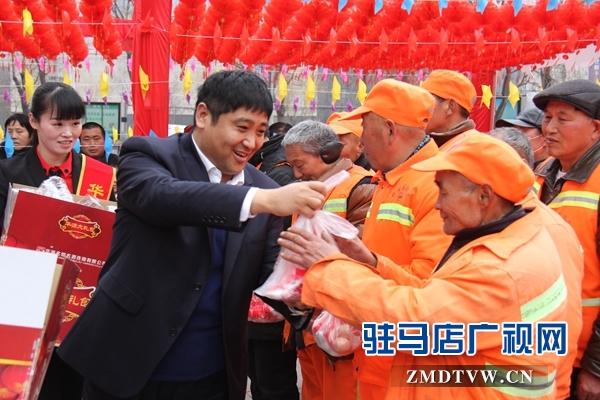 【视频】华源酒业总经理黄凤华携全体员工向全市人民拜年