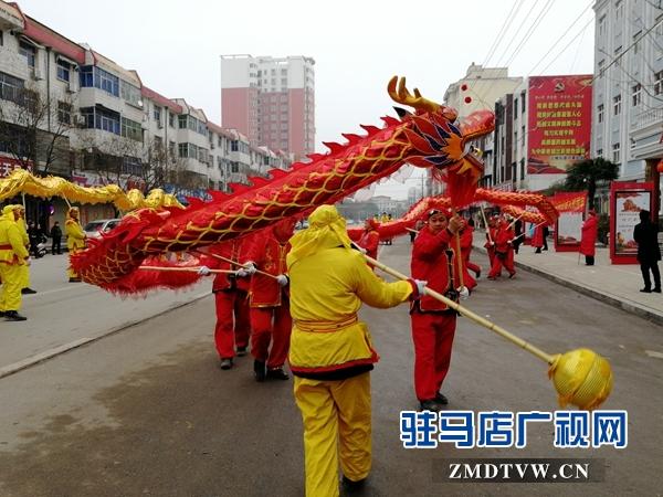 平舆县举办民间艺术闹新春活动