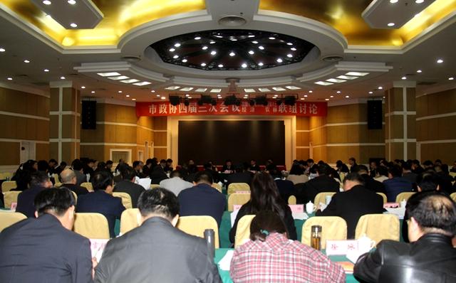 市政协委员分组讨论政府工作报告和计划、财政报告