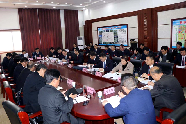 陈星到新蔡县代表团审议市政府等各项工作报告