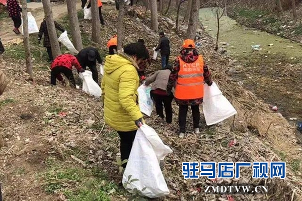 """上蔡县和店镇深入开展环境卫生""""片区作战周""""活动"""