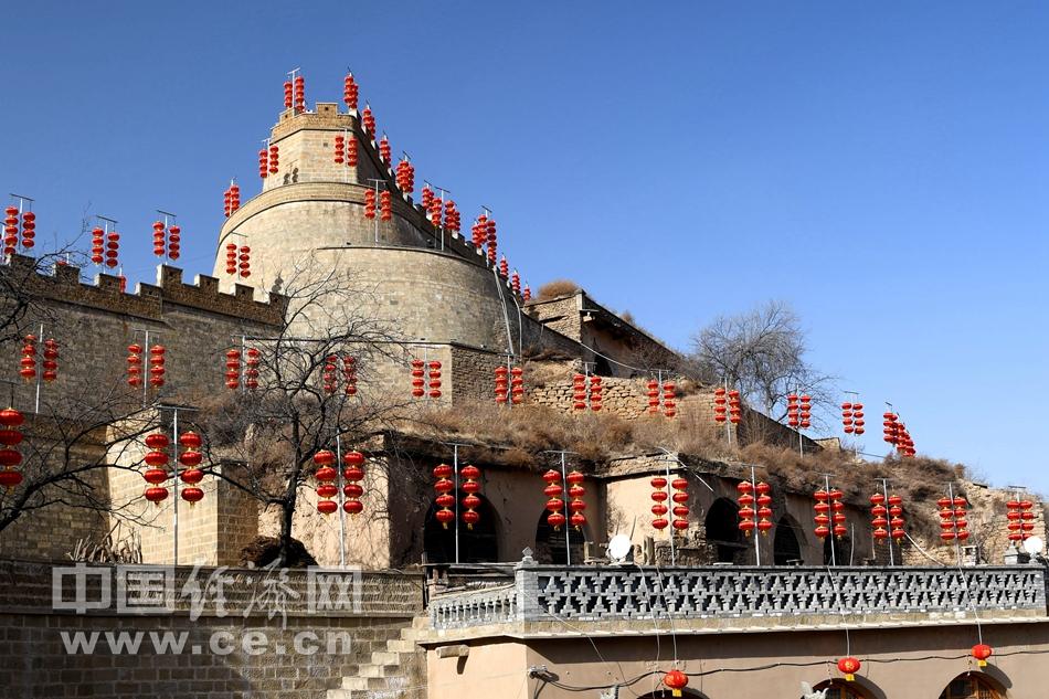 米脂杨家沟 访百年扶风寨