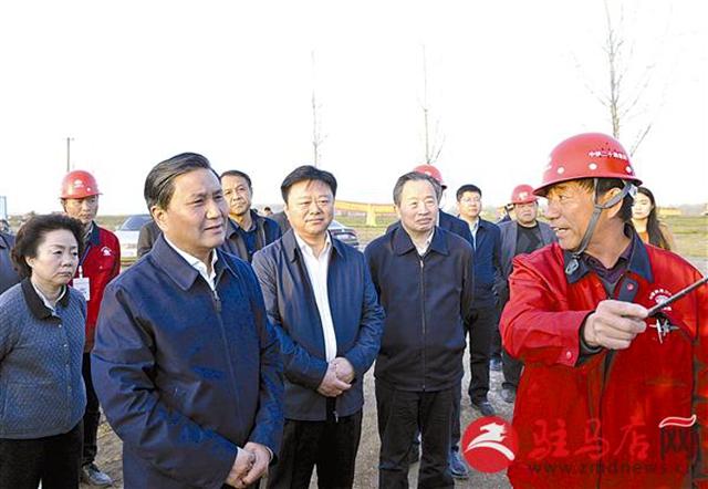 武国定到宿鸭湖水库调研清淤扩容工程