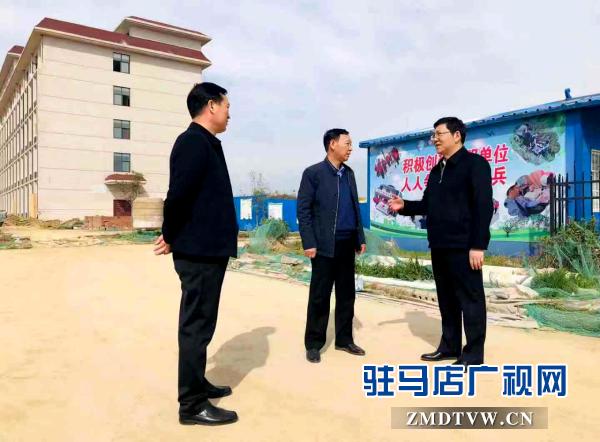 郭渊深入驻马店市监狱迁建项目工地开展企业服务日活动