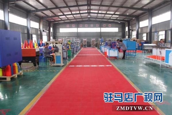 驻马店产业集聚区重点项目观摩团到上蔡县观摩