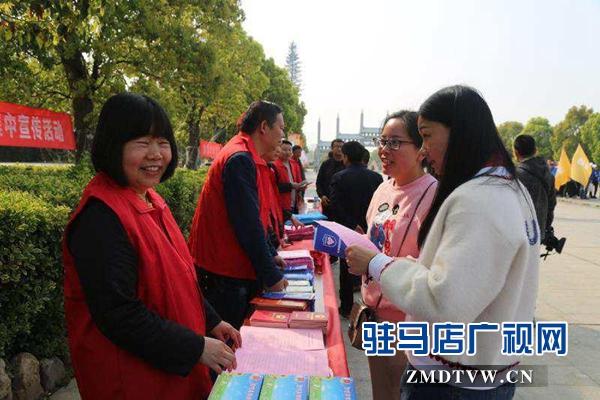 """遂平县开展""""法律服务进景区"""" 集中宣传活动"""