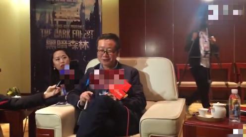 刘慈欣出席舞台剧现场 避谈三体电影:这个不用问