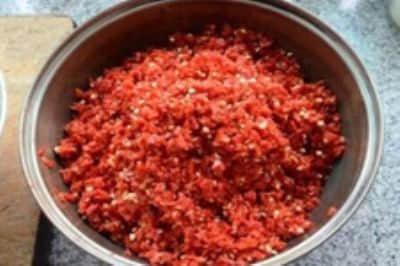 辣椒末的做法