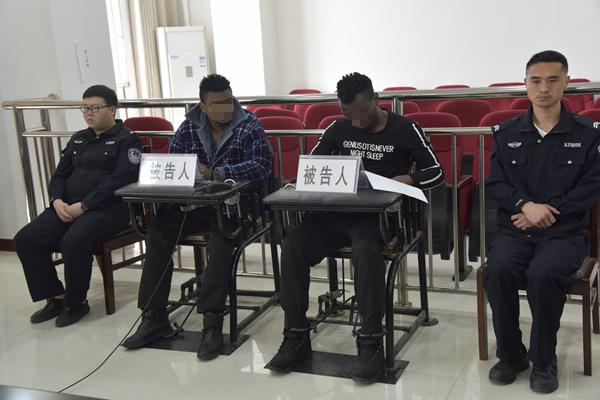 泌阳县法院公开审理一起涉外诈骗案