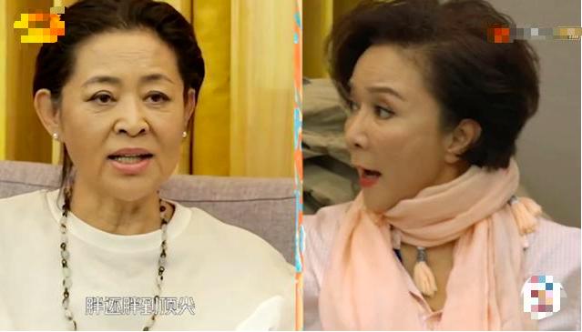 60岁倪萍与57岁蔡明同框,相差3岁皮肤差距竟然这么大
