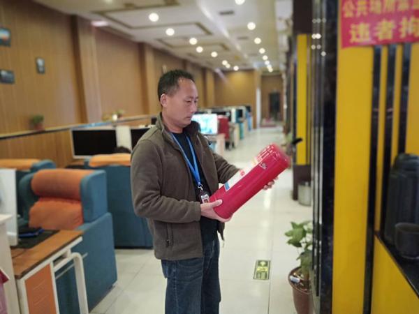 """汝南县文广旅游局开展""""五一""""节前 文化市场安全大检查"""