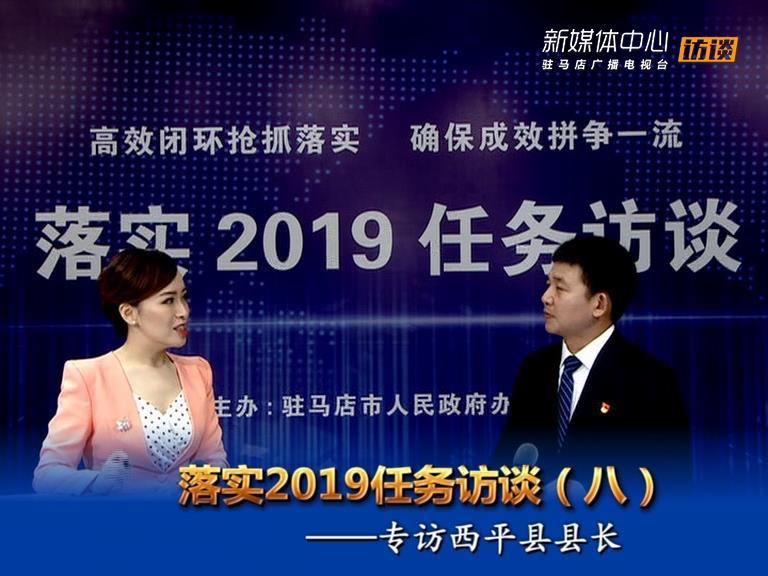 落实2019任务访谈--西平县人民政府县长李全喜