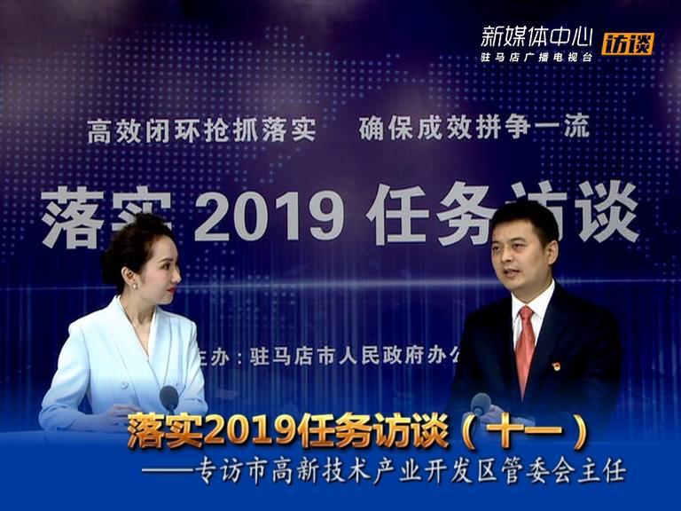 落实2019任务访谈--市高新区管委会主任冯磊