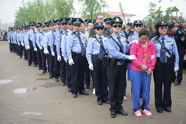 22个诈骗犯在上蔡县被公开宣判
