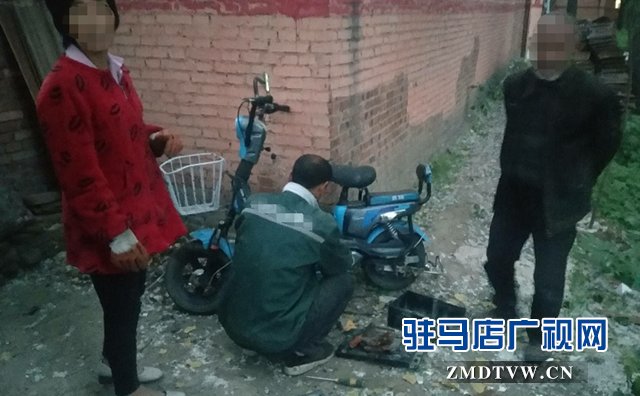 平舆县利用新科技抓获 4名盗车嫌疑人