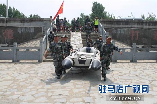 驿城区民兵防汛应急力量建设进入规范化新阶段