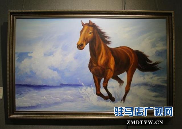 方伟油画作品在驻马店市群艺馆开展 展期一周