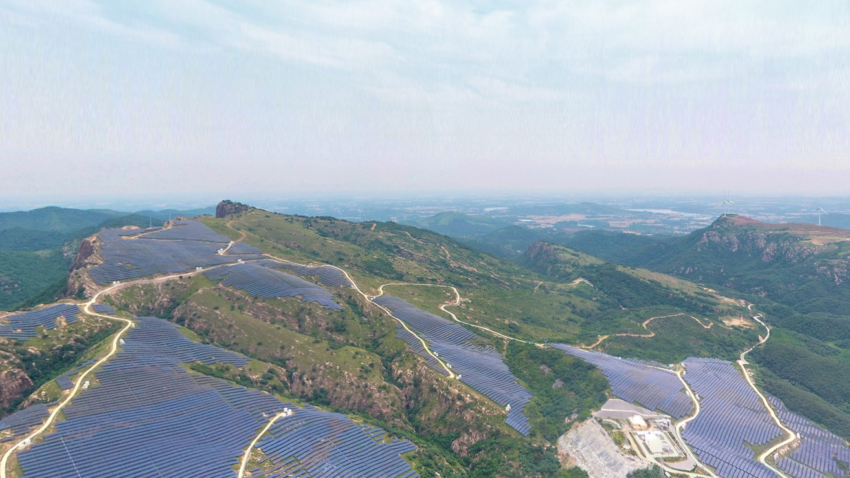 VR视角 | 360°全景VR带你走进红石崖太阳能