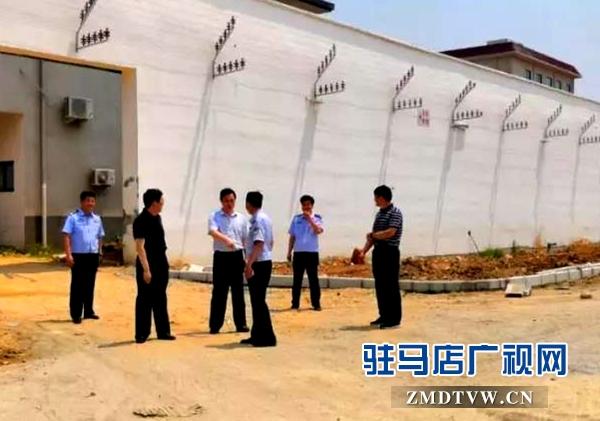 郭渊到驻马店市监狱迁建新址实地查看指导工作
