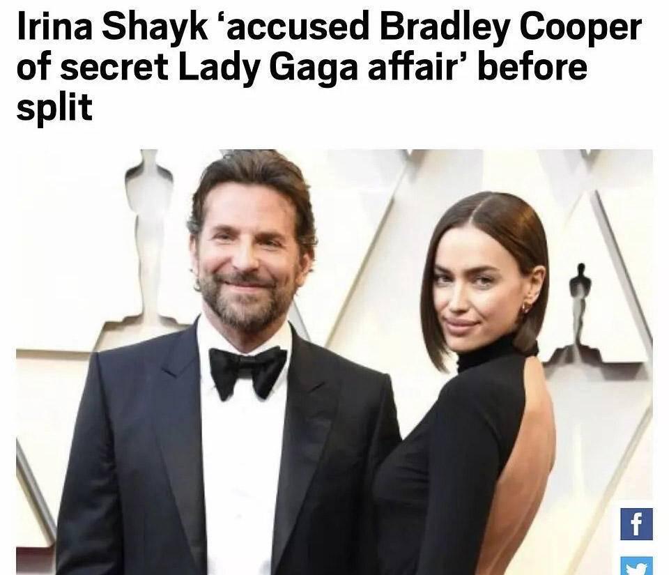LadyGaga爱找有妇之夫?狼叔之后是库珀,惹怒正房伊莲娜下场开撕