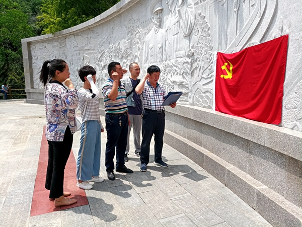"""正阳县气象局开展""""不忘初心、牢记使命""""主题党日活动"""