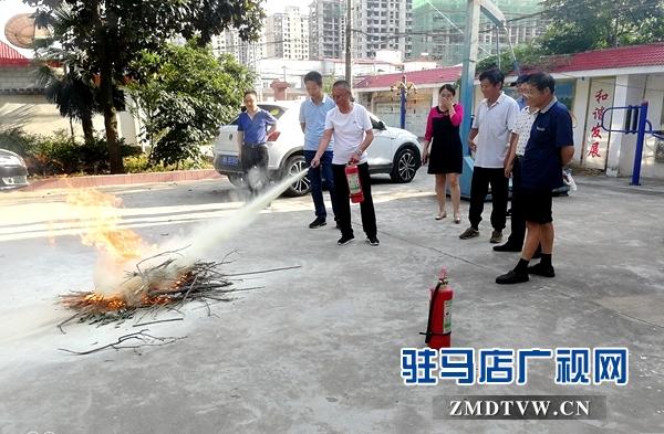 正阳县气象局开展消防应急演练
