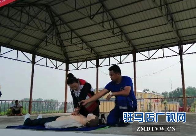黄淮学院动画学院开展防溺水安全教育活动