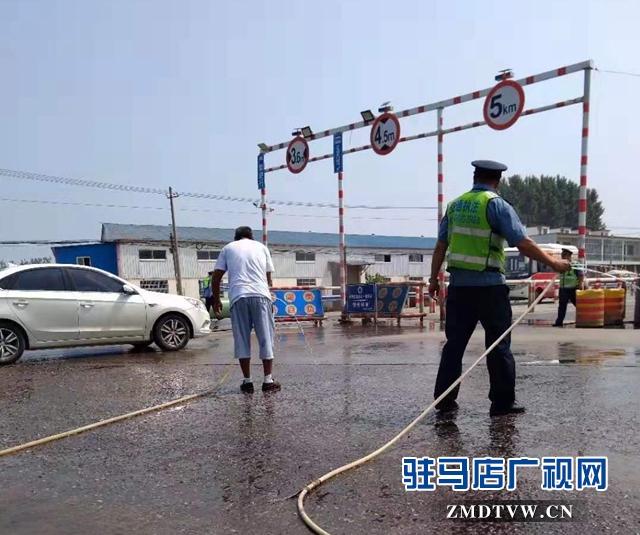 正阳县交通运输执法局对辖区公路超限检测站开展评比活动