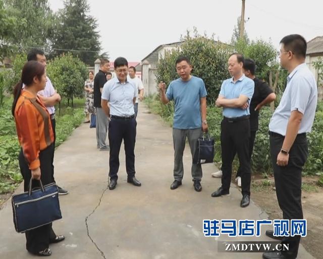 西平县委副书记管保臣到部分乡镇检査督导脱贫攻坚工作