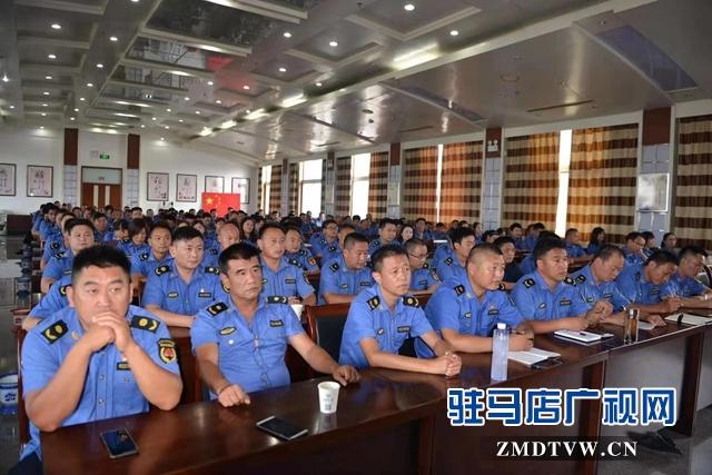 正阳县城管局召开巩固国家卫生县城工作推进会
