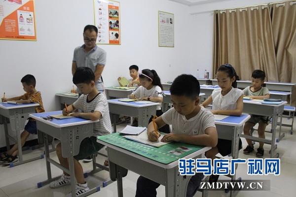 """硬笔书法成为孩子们的暑假""""必修课"""""""
