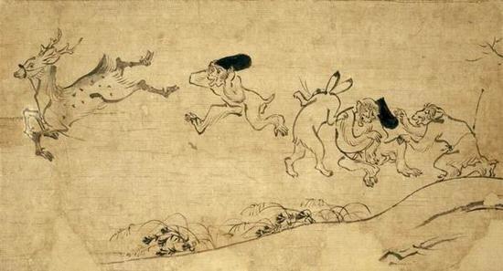 日本艺术中的动物之变:从马形埴轮到奈良美智小猫