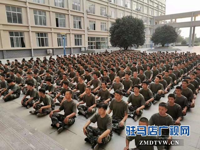 驿城区开展预定新兵役前训练