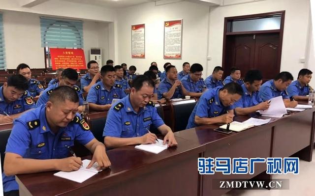 正阳县城管局召开巩固国家卫生县城创建工作推进会
