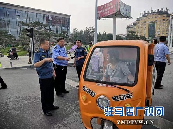 平舆县再掀交通环境整治活动新高潮
