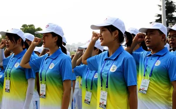 驻马店631名青年志愿者出征第二十二届中国农产品加工投洽会