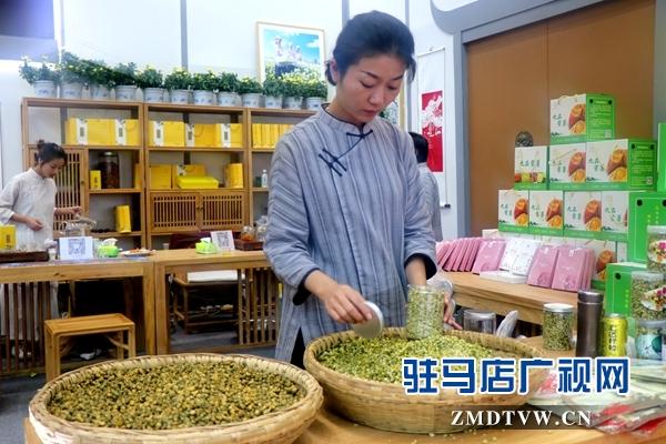 """中国美丽休闲乡村西平九品村花茶带给你""""老家的味道"""""""