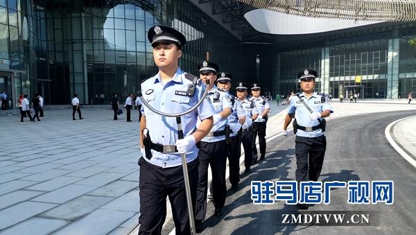 """市公安局西园分局武装巡逻队""""惊艳""""投洽会"""