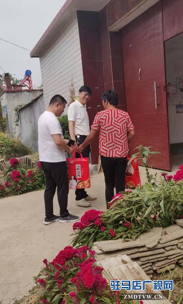 平舆县民政局开展扶贫走访慰问活动
