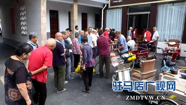 正陽縣建工集團公司組織中秋敬老活動