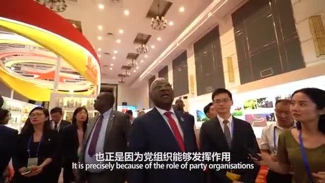 《外国政党政要有话说》——乡村振兴跟党走