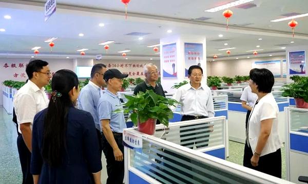 中国心理学家大会主席梅建一行到驻马店调研
