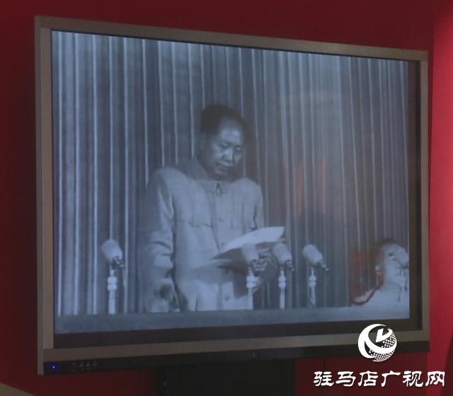 """西平县四大班子领导参观""""不忘初心 牢记使命""""主题教育档案文献展"""
