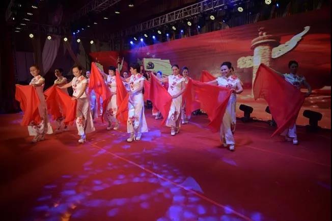 上蔡县举行庆祝中华人民共和国成立70周年老干部文艺汇演活动