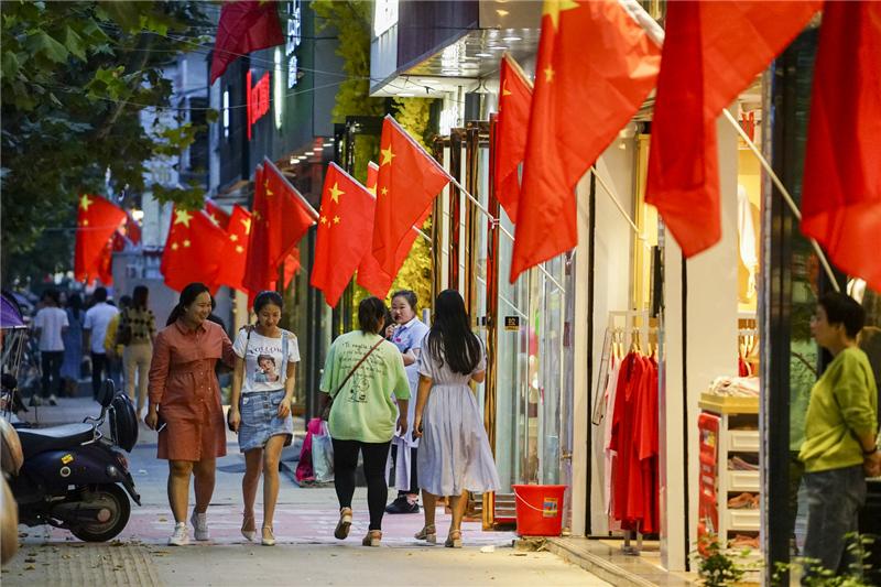 """最美""""中国红""""扮靓驻马店!我爱你,我的祖国!"""