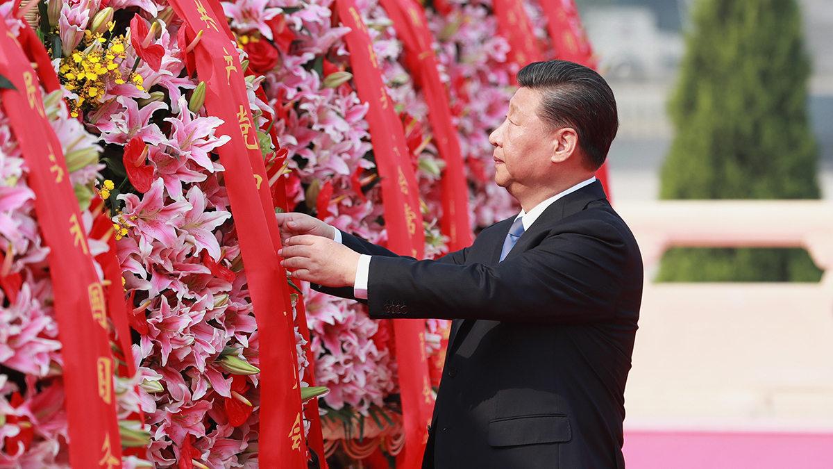 烈士纪念日向人民英雄敬献花篮仪式特别报道