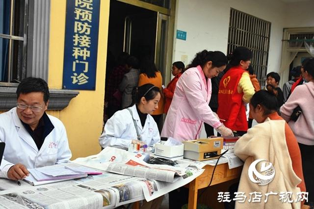 """正阳县开展""""两癌""""筛查及孕前优生健康检查"""