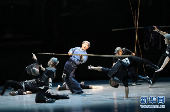 第21届中国上海国际艺术节开幕大戏《战上海》精彩上演